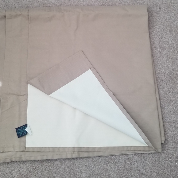 Set of two curtain panels